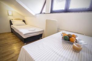 Jednokrevetna soba Zagreb